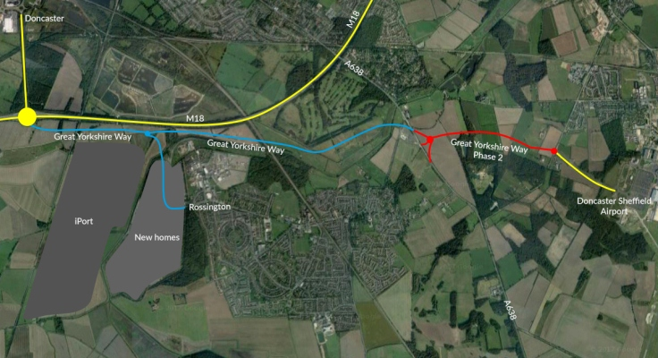Second phase of transformational road scheme ready for take off