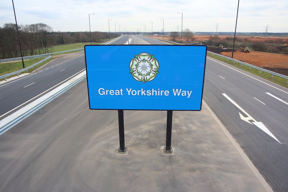 Great Yorkshire Way Sign