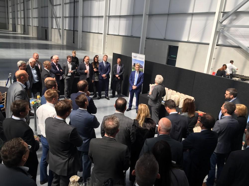 Launch of iPort's new 195,000 sq ft logistics unit