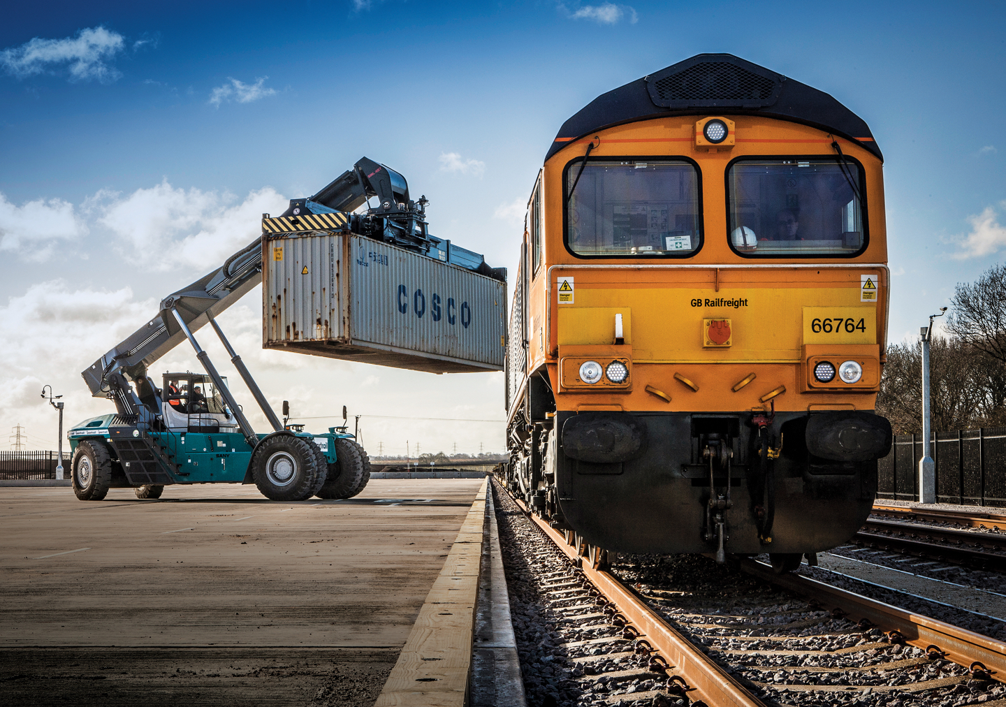 iPort Rail Rail Freight Terminal Doncaster UK