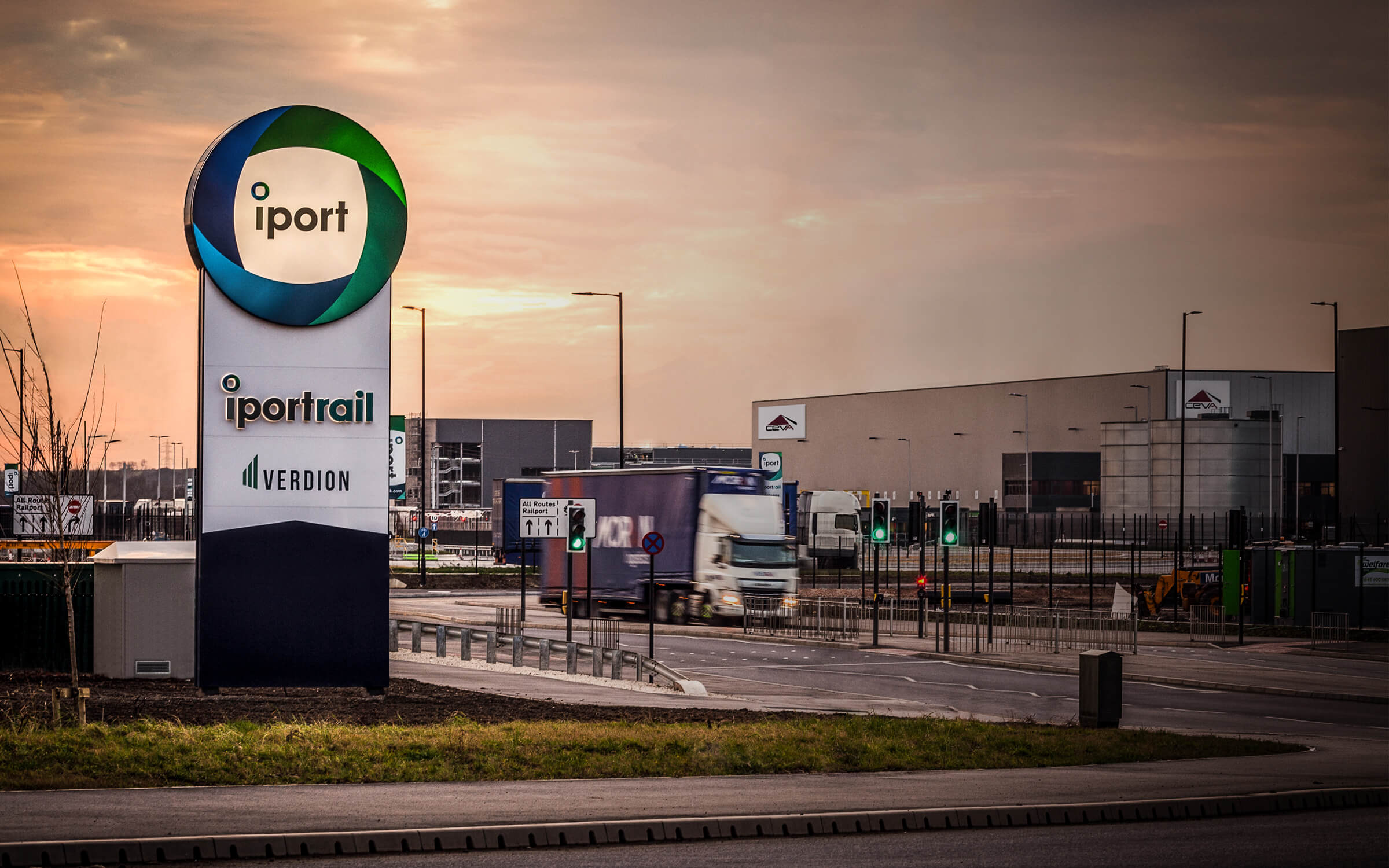 iPort, Doncaster, UK | Logistics Park & Strategic Rail Freight Terminal