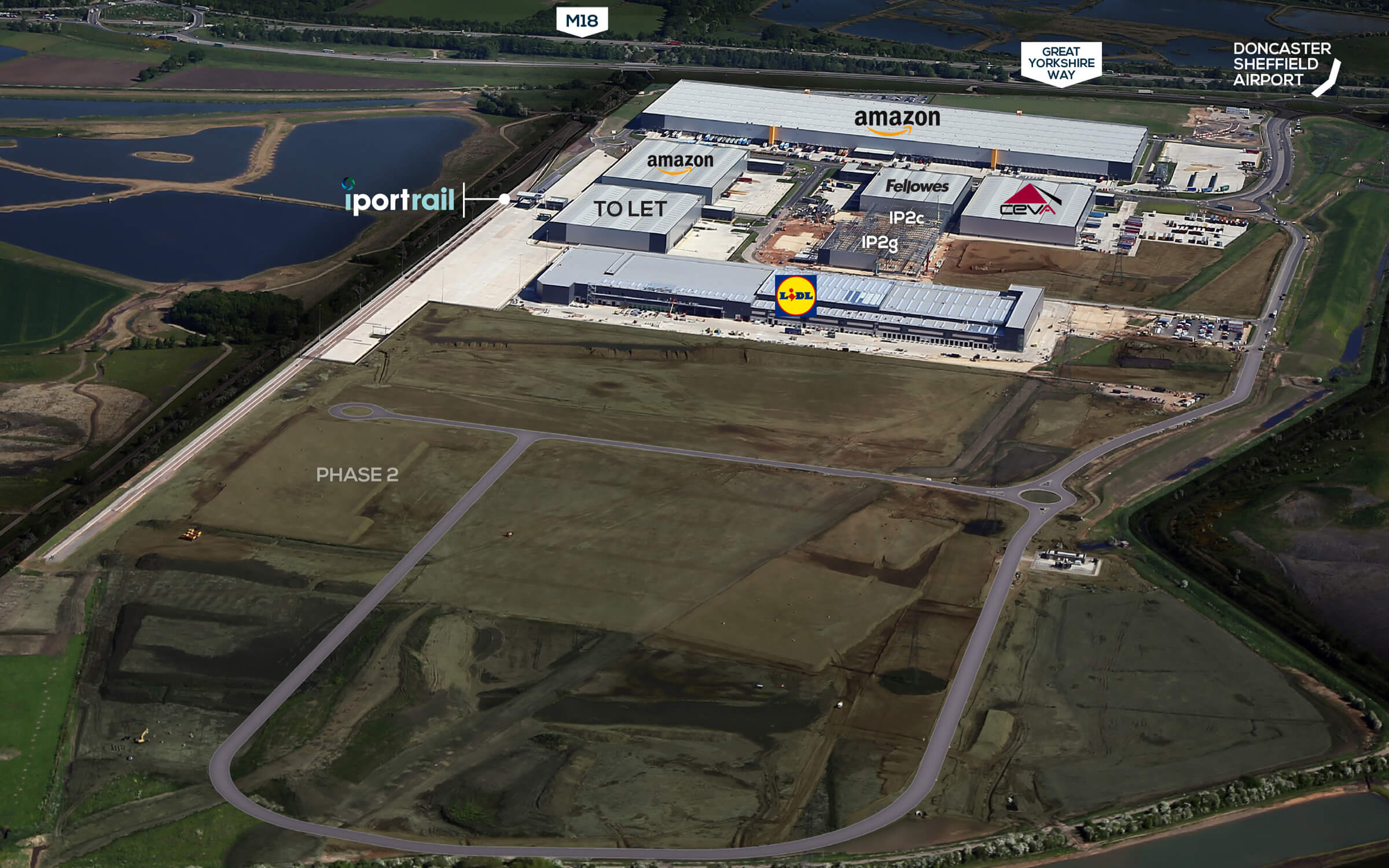 iPort Doncaster Aerial