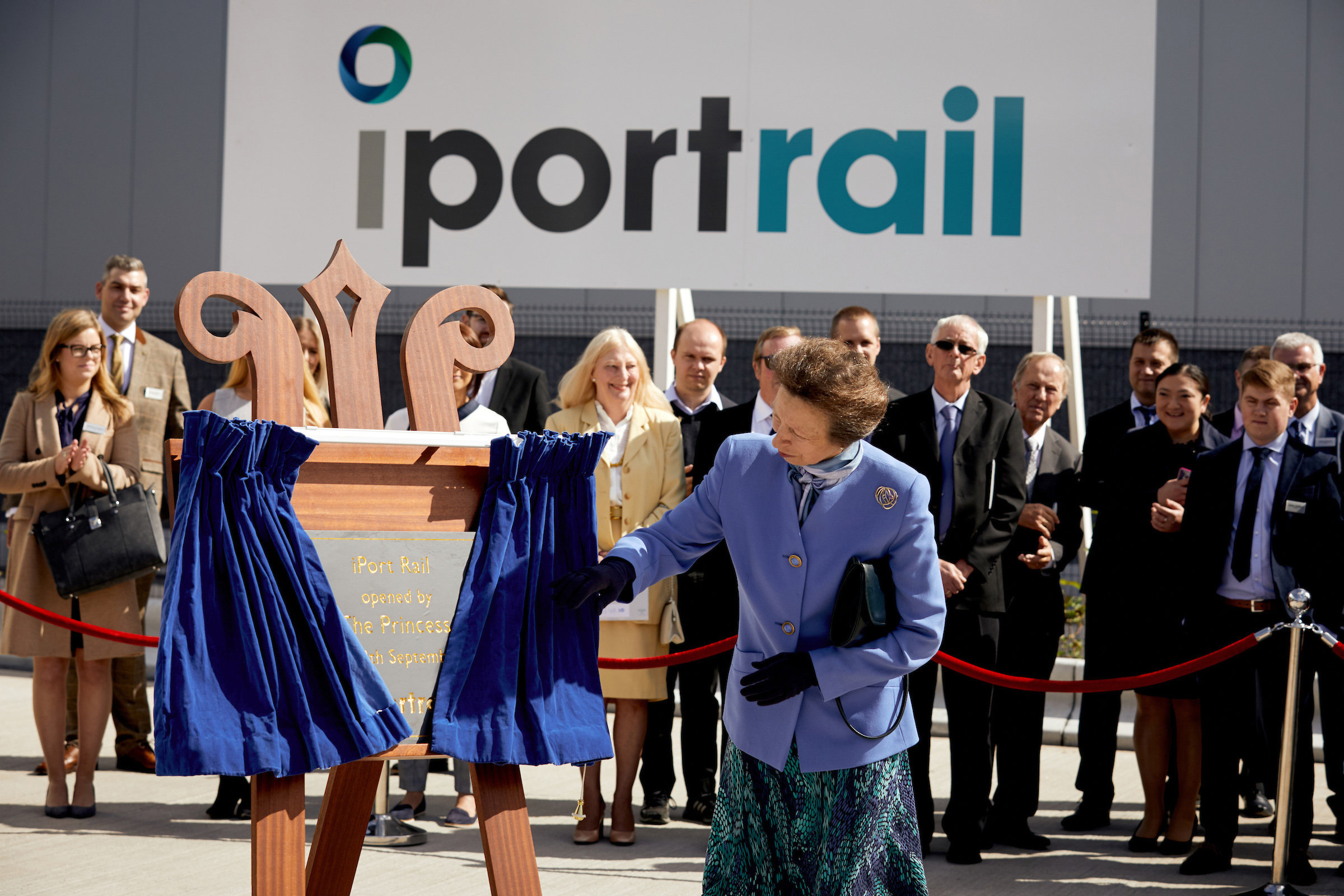 Verdion - iPort Rail – formal opening by HRH The Princess Royal